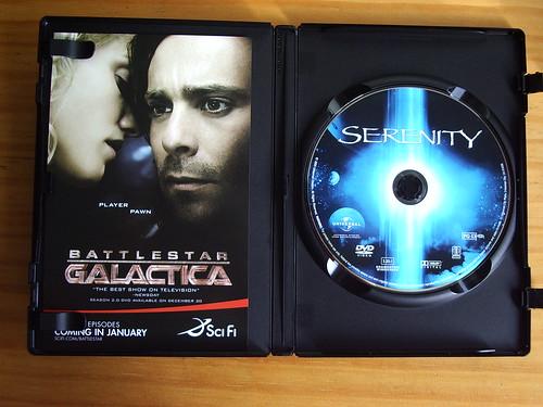 DVD de Serenity