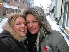 Camilla och Linea liten