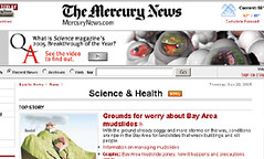 Science banner ads
