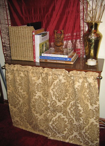 In My Perfect World All Bookcases Have Doors To Hide Whatever I May Stuff Inside Thankfully Curtains Serve Much The Same Purpose And Are Easier Make