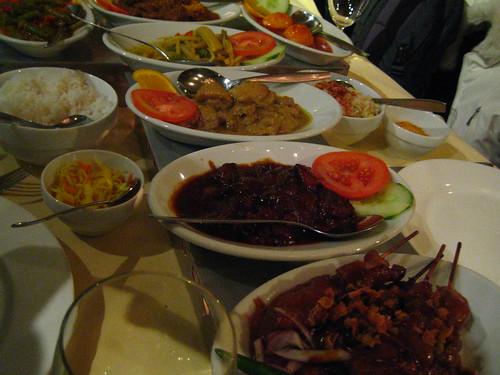 インドネシアンコース料理