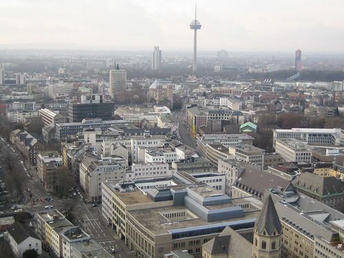 ケルン大聖堂・展望台からの風景