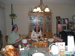 Higgins Xmas dinner