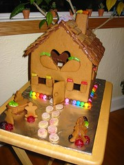 Gingerbread House Finished!