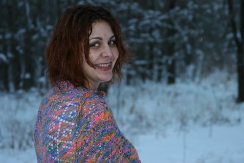 nice shawl!