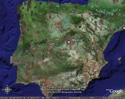 spain-google-earth