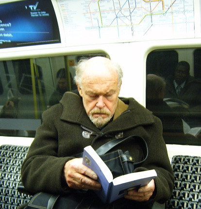 Who is this actor spotted on the Northern Line?