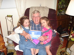 the girls and Poppie