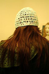 my new hat: the back