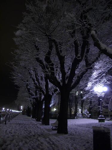 La neige à Florence