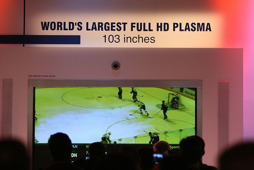 Panasonic's World's Largest Plasma HDTV
