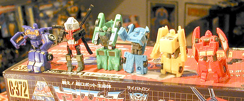 Cybertron Minicons