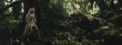 金刚-女主角在丛林中逃生时衣服很结实