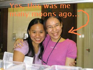 Me n Melissa @ KDU 2003