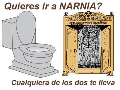 narnia toilet