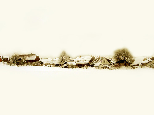 La blanche neige  (a Camporosso - Italy)
