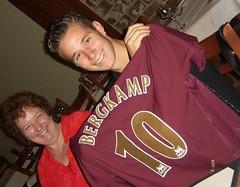 Joel with Mum