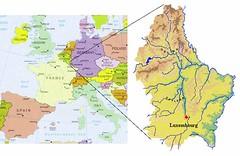 Kedudukan Luxembourg dlm Europe
