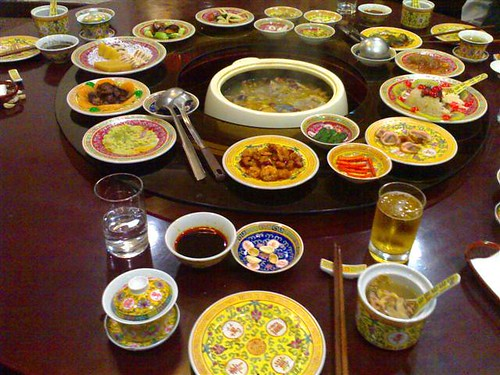 A Manchurian Emperor's Meal