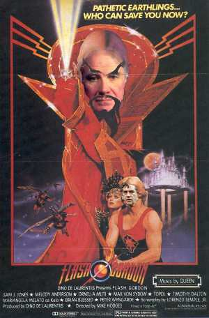 Ming the Merciless and Flash Gordon