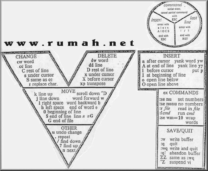 Vi Commands