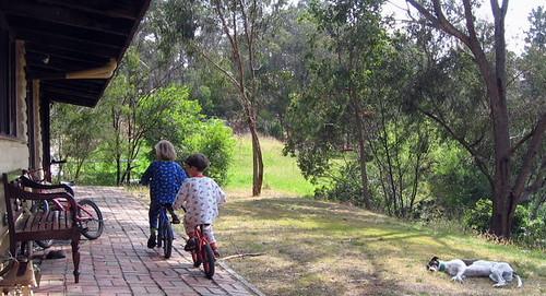 pyjamas & bikes