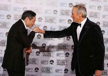 Ang Lee y Clint Eastwood