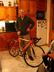 Dad and his bike
