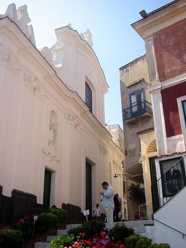 Buildings in Capri