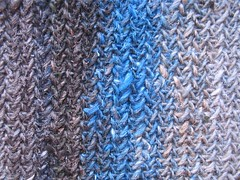 My So-called Scarf Stitch Detail