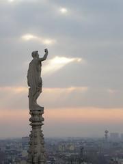 Milano - Il Duomo - Statua