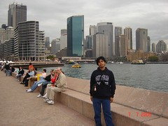 Skyline Bangunan2 di Circular Quay, Sydney, Australia