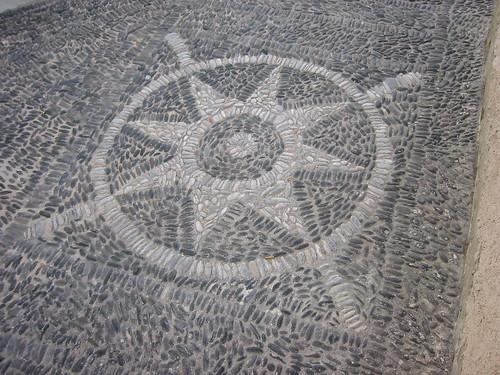 Detail of Fira Street, Santorini