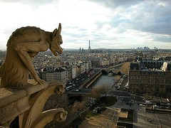 Grotesque Notre-Dame Paris France
