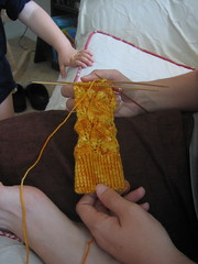 Knitting Olympics - Day Three