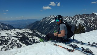 Spring skiing and drinking with Dylan