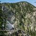 Mountain behind San Leonardo Lake
