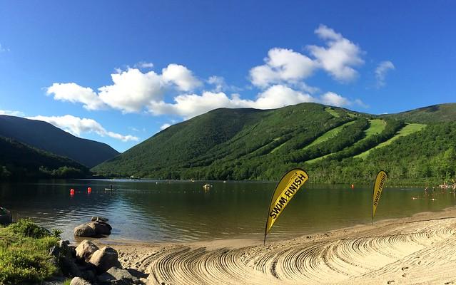 6/25/17 Perfect day for the 2XU White Mountains Triathlon!