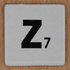 Word Game letter z