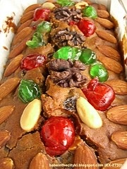 fruit cake loaf