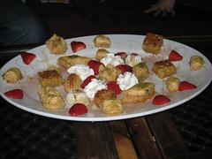 Al-kahkeyeen pastry (a selection of Egyptian oriental pastry, baklava, basboussa and kanafa)