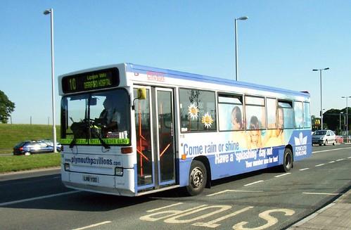 118 L118YOD Plymouth Citybus.