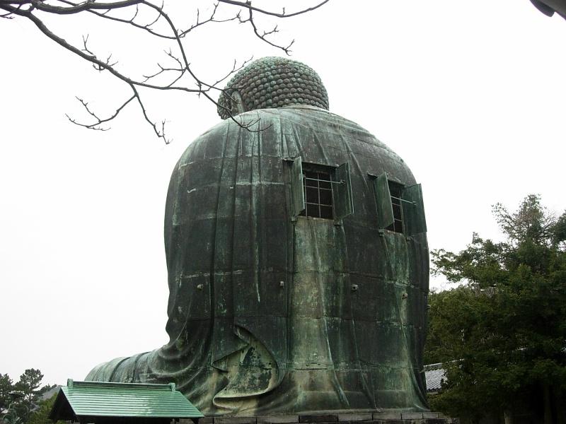 Great Buddha's back