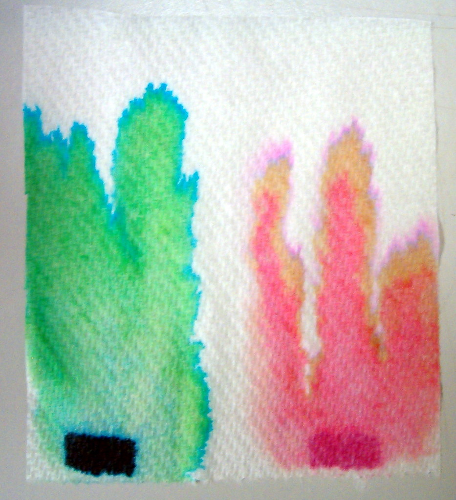 ink separation paper chromatography