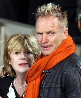 Marianne Faithfull and Sting