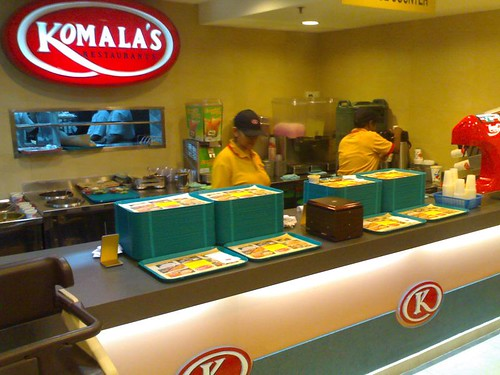 The Travelling Hungryboy: Komala's Restaurant