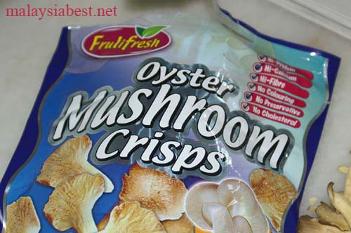 ... chips, do grab a packet of this mushroom chips. I found them from