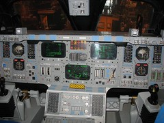 Inside the Space Shuttle Cockpit