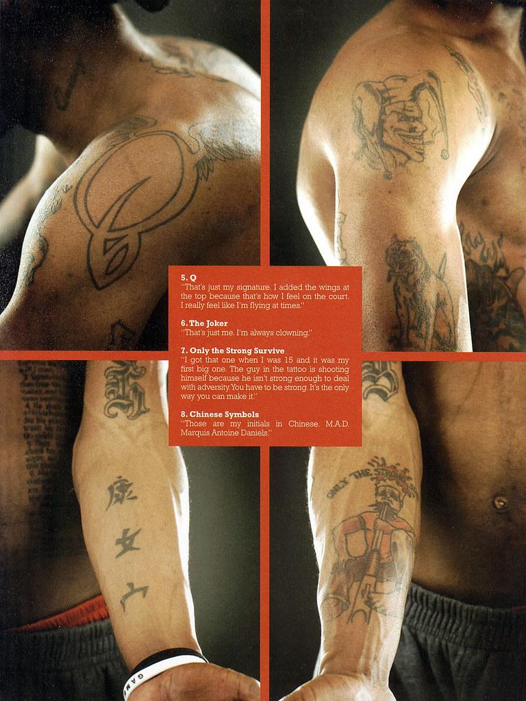 DIME Marquis Daniels Tattoos