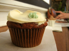 carrot wheat-free cupcake